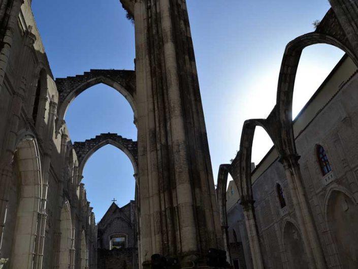 Carmo Rahibe Manastırı Kilisesi fotoğrafları - Carmo Convent Lisbon Convento do Carmo photos