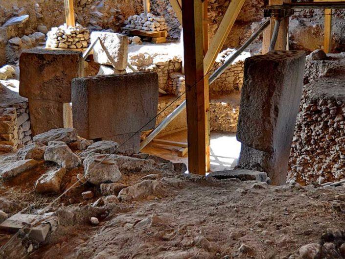 Göbeklitepe antik alanı fotoğrafları - photos of Gobekli Tepe steles Southeastern Anatolia