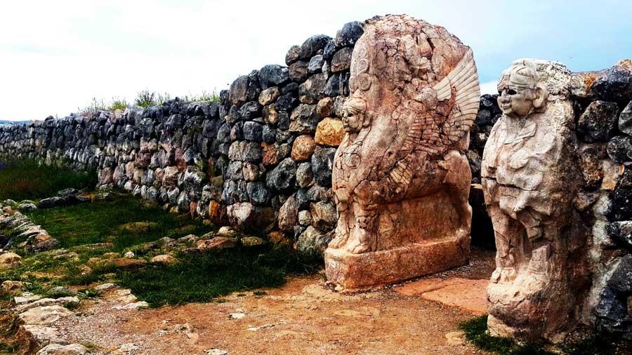 Hititler ve Hattuşa Antik Kenti Anadolu Hitit Medeniyeti Başkenti
