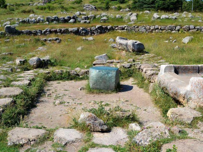 Hattuşa Yeşil taş, Boğazköy fotoğrafları Çorum - Hattusa green stone, Hattusa photos, Turkey