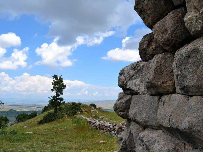 Hattuşa fotoğrafları, Hattuşa aşağı şehir surları, Çorum - Hattusa lower city wall, Bogazkoy Hattusa photos, Çorum Turkey