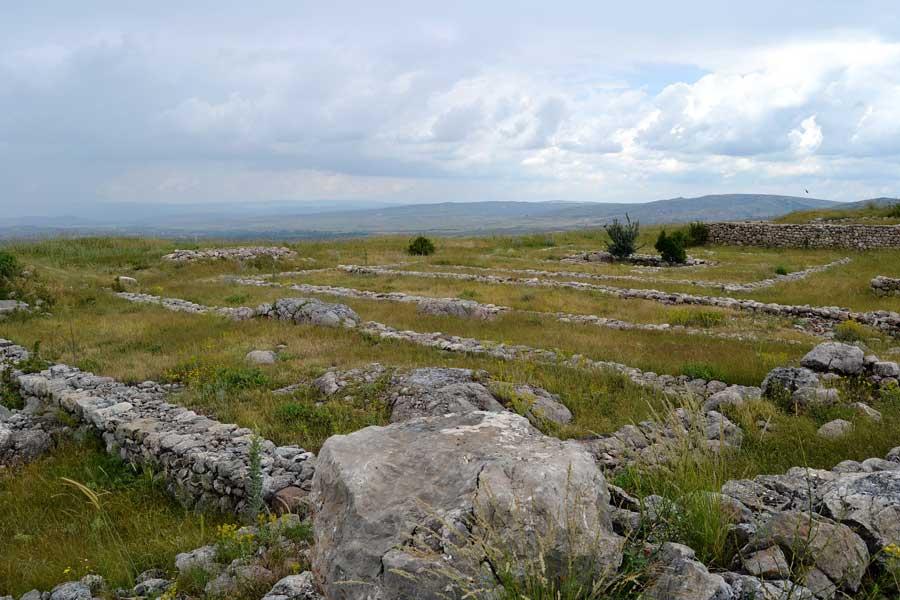 Hitit Başkenti Hattuşa kalıntıları, Boğazköy Çorum - Ruins of Hittite capital Hattusa, Çorum Turkey