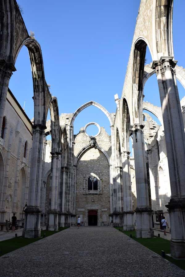 Lisbon gezilecek yerler Carmo Rahibe Manastırı Kilisesi fotoğrafları - Lisbon Carmo Convent (Convento do Carmo)