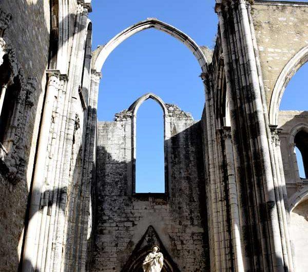 Lizbon gezilecek yerler Carmo Manastırı Kilisesi - Lisbon Carmo Convent photos (Convento do Carmo)