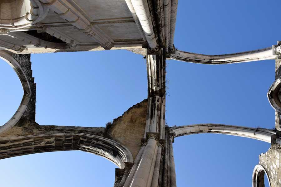 Lizbon gezilecek yerler Carmo Rahibe Manastırı Kilisesi fotoğrafları - Carmo Convent Lisbon Convento do Carmo photos
