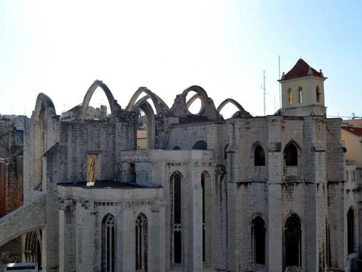 Lizbon gezilecek yerler Carmo Rahibe Manastırı fotoğrafları - Lisbon Carmo Convent (Convento do Carmo)