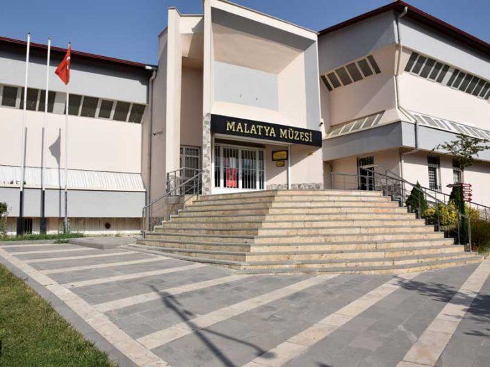 Malatya müzesi genel görünüm - Malatya museum generral view