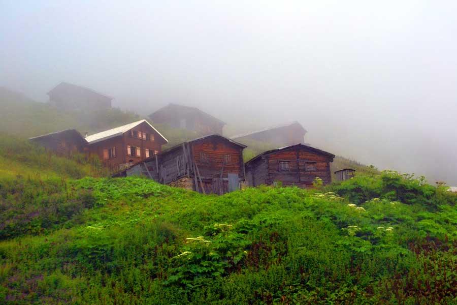 Pokut yaylası sis fotoğrafları - Pokut plateau photos