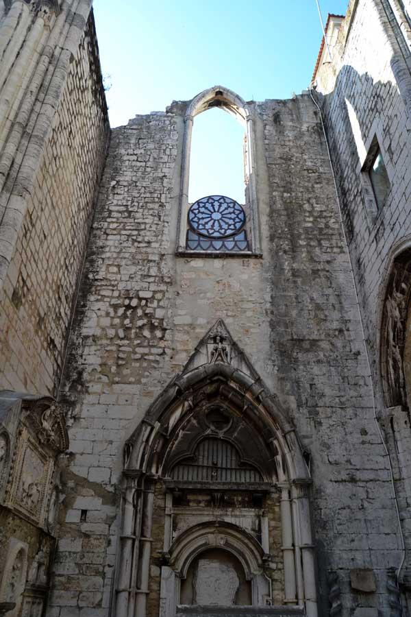 Lizbon Carmo Rahibe Manastırı Kilisesi fotoğrafları - Carmo Convent Lisbon Convento do Carmo