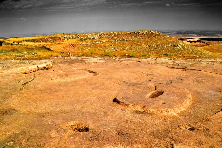 Şanlıurfa Göbeklitepe ritüel alanı fotoğrafları - Gobekli Tepe photos Southeastern Anatolia Turkey