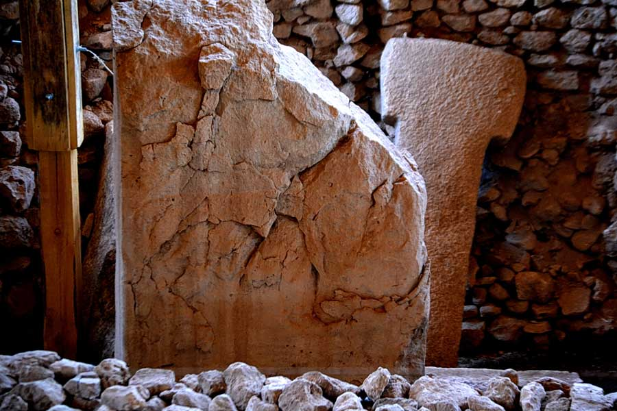 Şanlıurfa antik zamanlardan kalan Göbeklitepe fotoğrafları - Turkey Southeastern Anatolia Gobekli Tepe photos