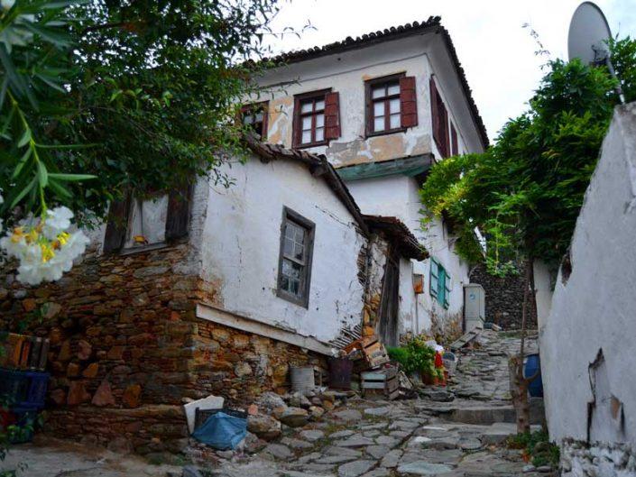 Selçuk Şirince köyü sokakları, İzmir - streets of the Sirince village, Selcuk