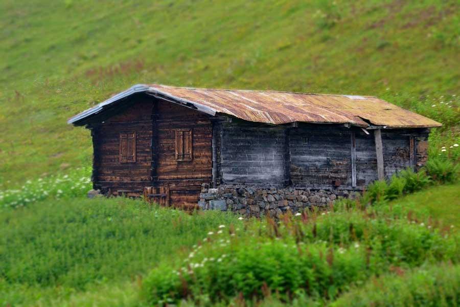 Yayla evi Pokut yaylası fotoğrafları - Historical house, Pokut plateau photos