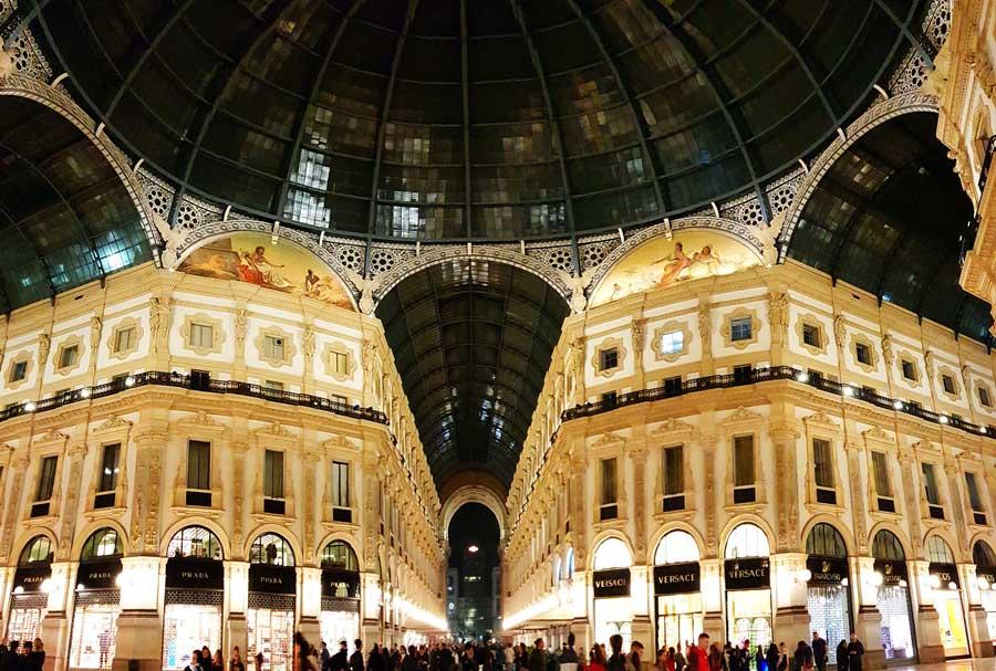 Milano Galleria Vittorio Emanuele II Bilgileri ve Özellikleri