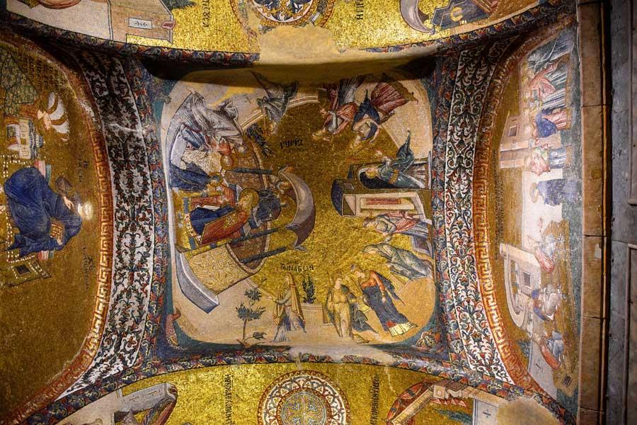 Kariye Müzesi veya Kariye Camisi (Kilisesi) Mozaikleri ve Anlamları