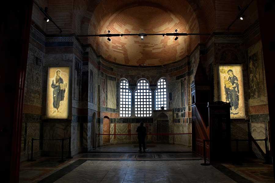 Kariye Müzesi veya Kariye Cami Mimarisi, Restorasyonları