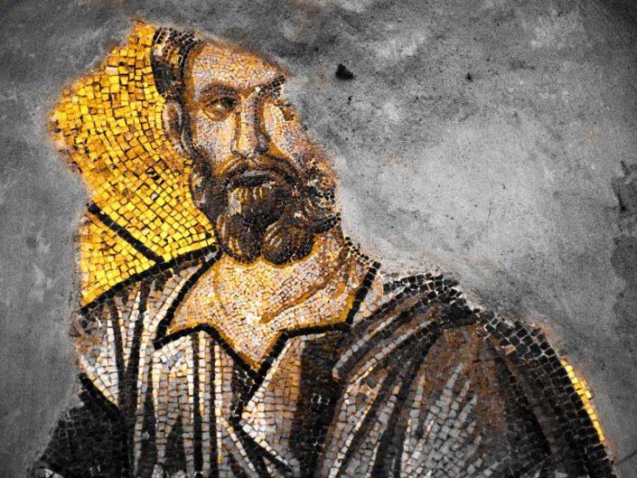 Kariye Müzesi dış narteks aziz tasviri - The Chora Museum Outer narthex Saint depiction