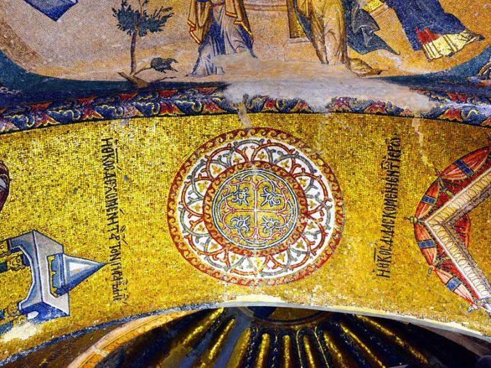 Kariye Müzesi fotoğrafları mozaik detayları - details of mosaics of the Chora Church Museum