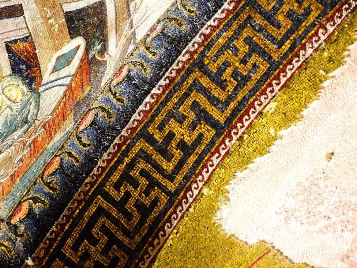 Kariye Müzesi mozaikleri detayları - details of the Chora Museum mosaics