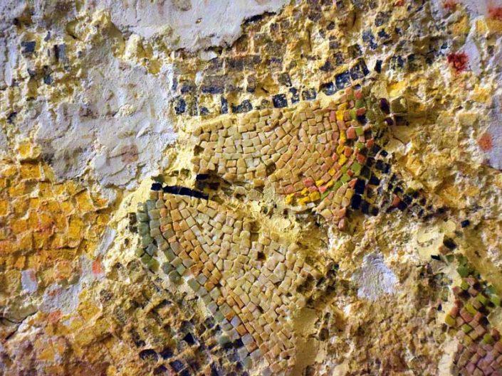 Kariye Müzesi orijinal mozaik katmanları ve müdahale izleri - The Chora Museum original mosaic layers