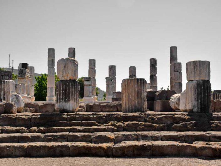 Çanakkale Ayvacık Apollon Smintheus veya Smintheion kutsal alanı tapınağı - Apollo Smintheus temple