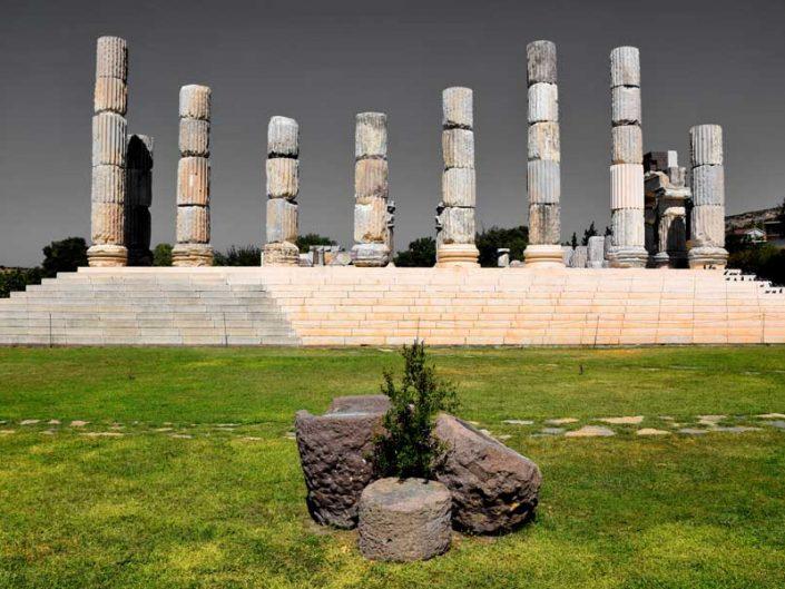 Apollon Smintheus veya Smintheion tapınağı - Temple of Apollo Smintheus