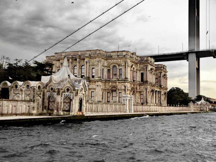 İstanbul Boğazı Beylerbeyi Sarayı - Bosphorus Anatolian Side Beylerbeyi Palace