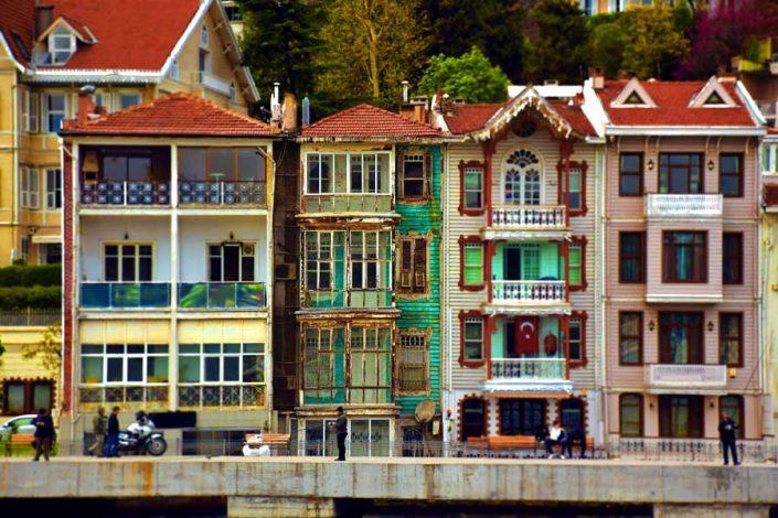İstanbul Boğazı Yalıları, Kaleleri ve Sarayları