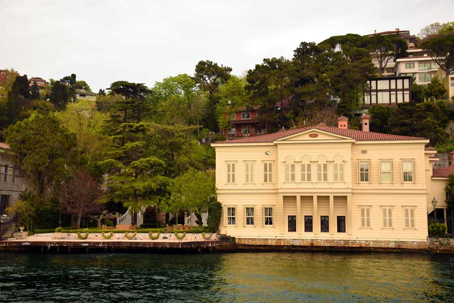 Boğaziçi Yalıları, İstanbul Boğazı Mimari Yapıları Bilgileri