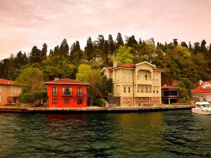 İstanbul Boğazı yalıları Kanlıca Ahmet Arif Bey Yalısı - Bosphorus Anatolian Side Kanlıca Ahmet Arif Bey Mansion