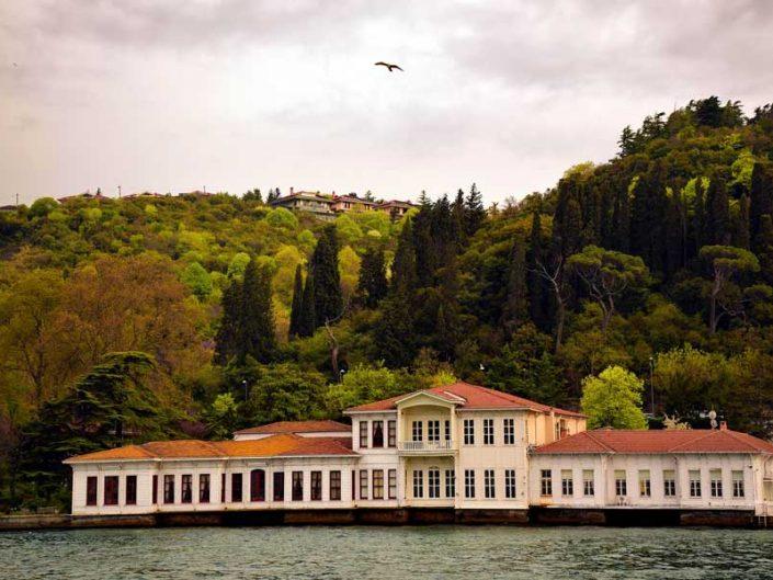 İstanbul Boğazı yalıları Küçüksu Kıbrıslı Mehmet Paşa Yalısı - Bosphorus Anatolian Side Küçüksu Kıbrıslı Mehmet Paşa Mansion