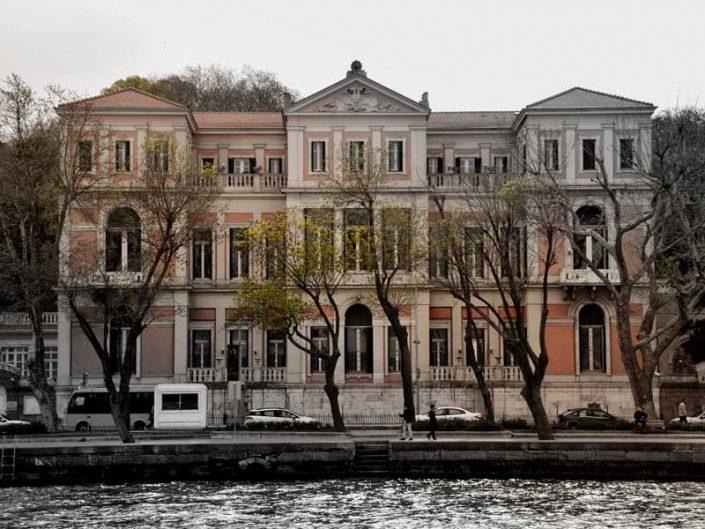 İstanbul Boğazı yalıları Yeniköy Cezarliyan Yalısı - Bosphorus European Side Yeniköy Cezarliyan Mansion