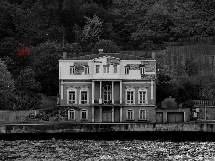 İstanbul Boğazı yalıları Yeniköy'de bir yalı - Bosphorus European Side Yeniköy, Mansion