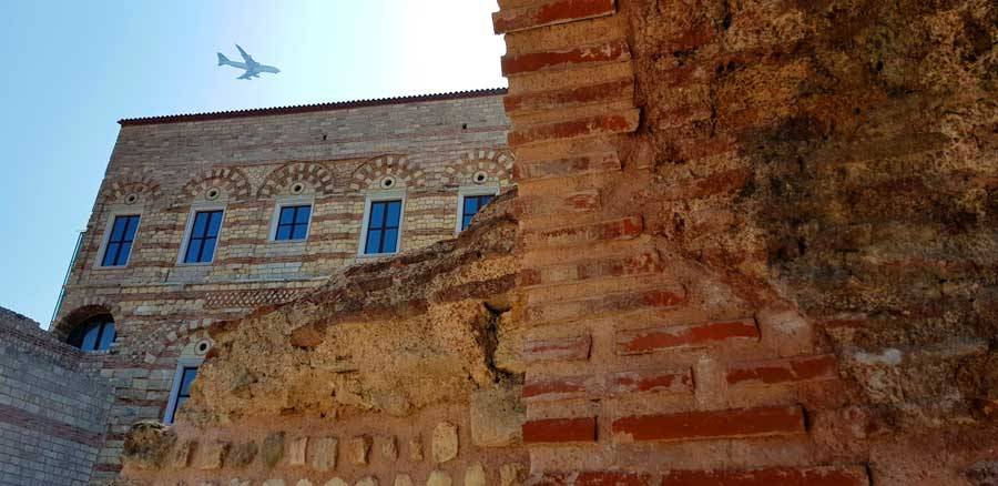 İstanbul Tekfur Sarayı veya Porfirogennetos sarayı fotoğrafları - Photos of Istanbul Tekfur Palace or Porfirogennetos Palace