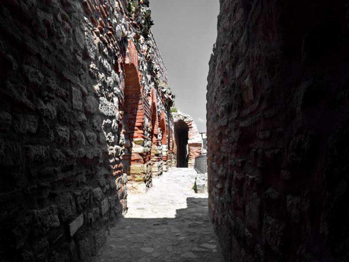 Tekfur Sarayı İstanbul surları orta kat koridoru - Tekfur Palace, middle floor corridor of the Walls of Constantinople
