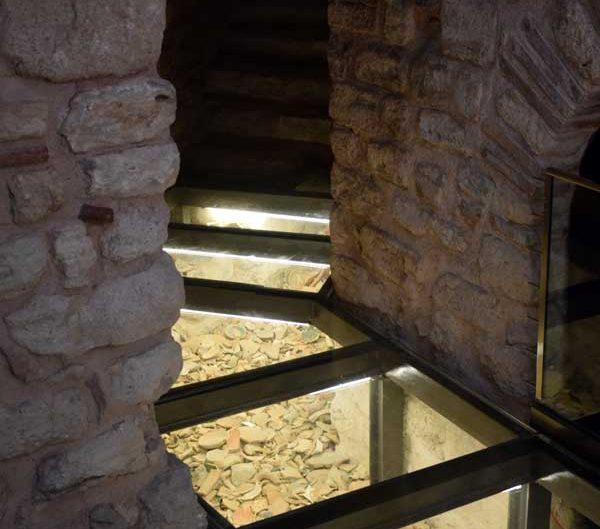 Tekfur Sarayı modern restorasyon detayı - Tekfur Palace modern restoration detail