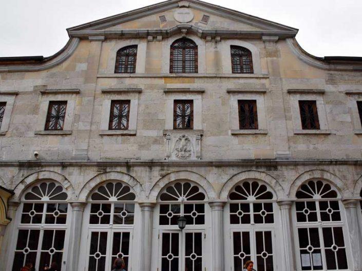 Aya Yorgi Rum Patrikhane Kilisesi ön cephesi - Istanbul Greek Orthodox Patriarchate the Church of St. George front facade