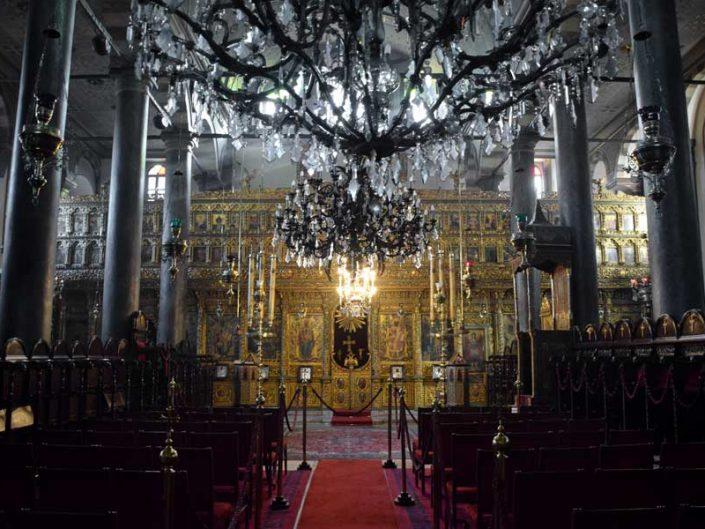 Fener Aya Yorgi Rum Patrikhanesi içi - interior of St. George's Cathedral, Istanbul