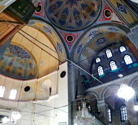 Gül Camii, eski ismi ile Azize Teodosya Kilisesi panoramik fotoğrafları - Panoramic photos of Gül Mosque, old name Saint Theodosia Church (The Mosque of the Rose)