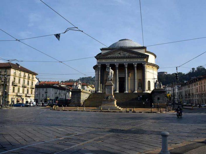 İtalya Torino Gran Madre di Dio Kilisesi fotoğrafları - Italy Turin Catholic Parish Church Gran Madre Di Dio