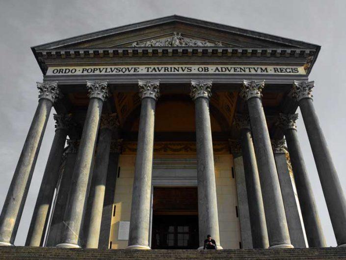 Torino gezilecek yerler Gran Madre di Dio Kilisesi - Places to visit in Turin, Catholic Parish Church Gran Madre Di Dio