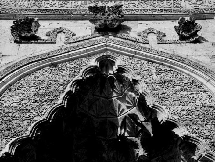 Anadolu Selçuklu sanatı Çifte Minareli Medrese bezeme detayları - Architecture and art of Rum Seljuk Sultanate, Sivas Cifte Minareli Madrasah decoration details