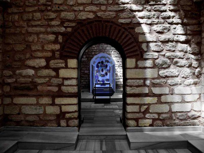 İstanbul gezilecek yerler Küçük Mustafa Paşa Hamamı içi fotoğrafları - Istanbul places to visit Kucuk Mustafa Pasha historical bath interior