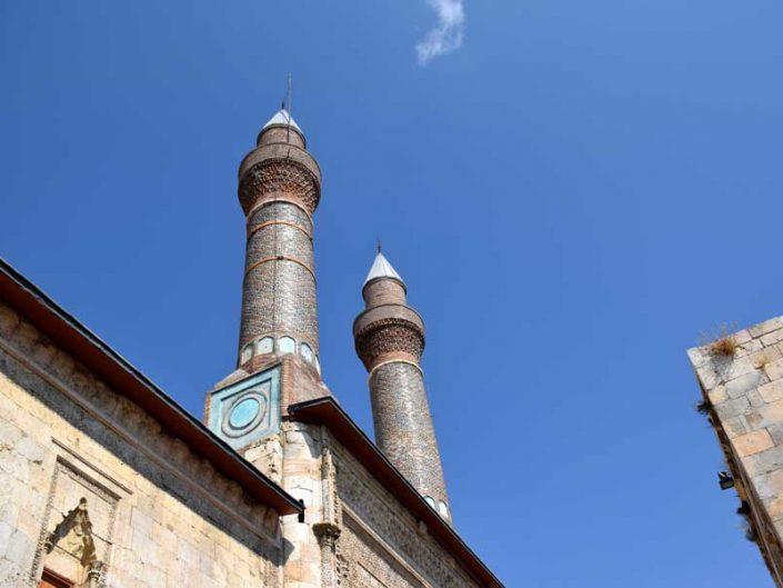Sivas gezilecek yerler Çifte Minareli Medrese fotoğrafları - Places to visit in Sivas, Cifte Minareli Madrasah photos
