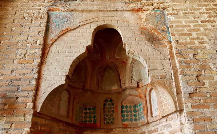 Sivas Şifaiye Medresesi eyvan detayları - Rum Seljuk Sultanate architectural Sifaiye Madrasah iwan details