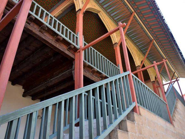 Bakibey Konağı fotoğrafları hayattan açık sofaya çıkış - Bakibey mansion photos, stairs of open-sofa from courtyard