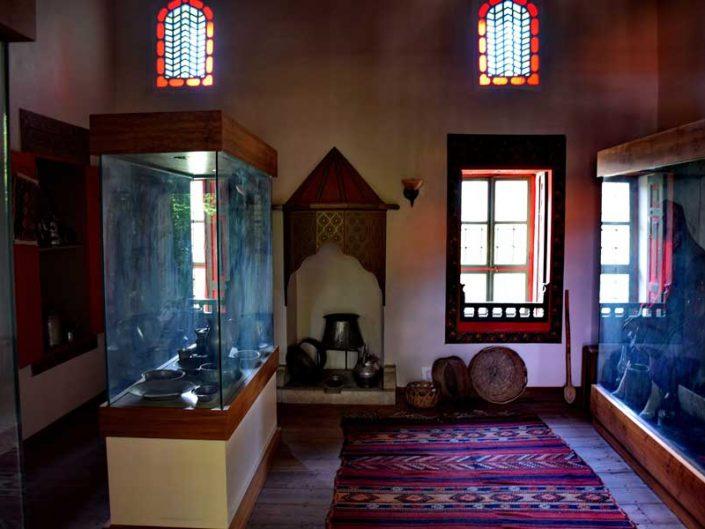 Burdur Bakibey Konağı müze bölümü - Bakibey mansion museum section