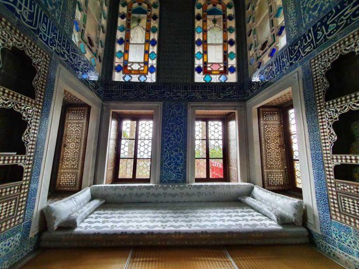 Topkapı Sarayı Bağdat Köşkü içi -Topkapı Palace Bağdat Kiosk interior