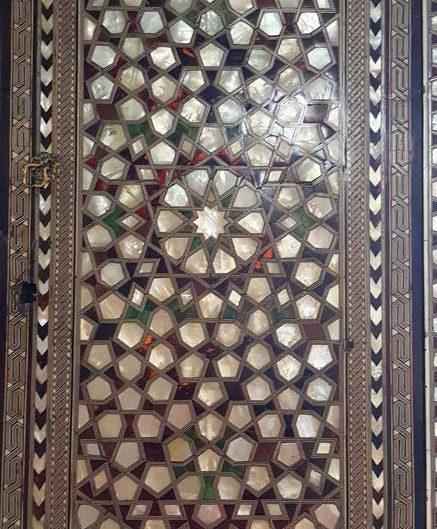 Topkapı Sarayı Bağdat Köşkü sedef kakmalı iç mekan süslemeleri - Topkapı Palace Bağdat Kiosk interior mother of pearl inlay decorations