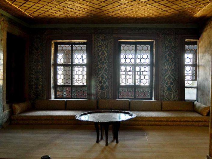 Topkapı Sarayı Harem Valide Sultan Odası - Topkapı Palace Harem Section Queen Mother's Main Chamber